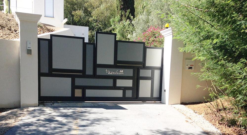 portails passion acier design. Black Bedroom Furniture Sets. Home Design Ideas