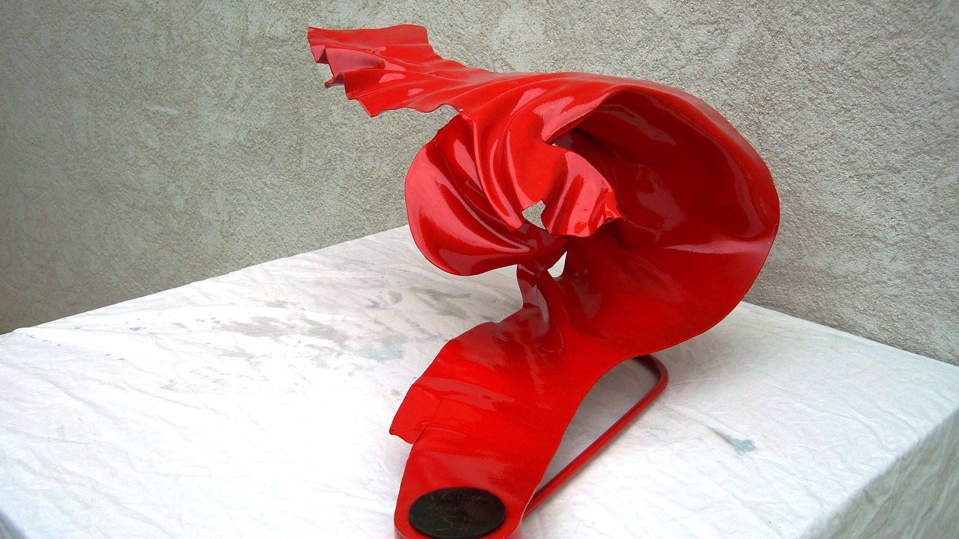 Sculpture en acier
