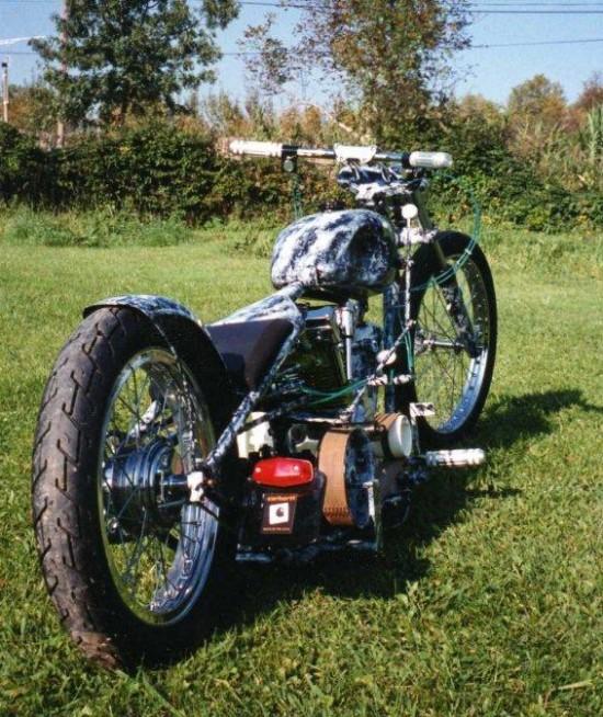 moto passion acier design